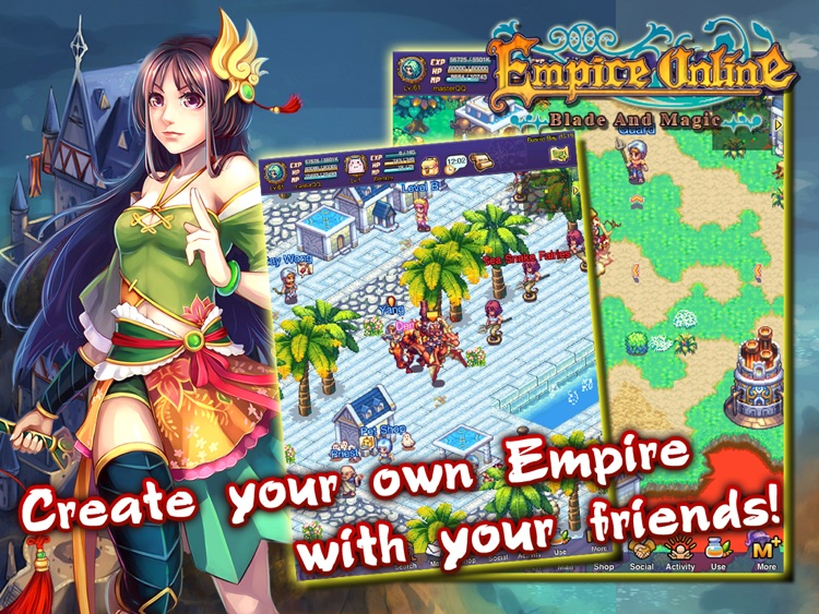 Empire Online (Classic MMO) HD screenshot-2