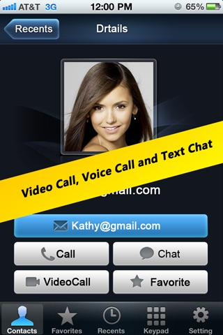 Talk+ GTalk Video Cal... screenshot1