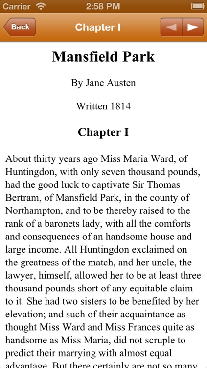 Small Jane Austen Collection (with search) screenshot-4