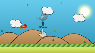 Jumpy Bird - The Adventure of a Tiny Bird screenshot one
