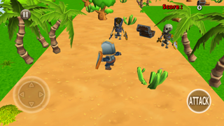 3D Tiny Hero-es vs Monster Defence Game for Free