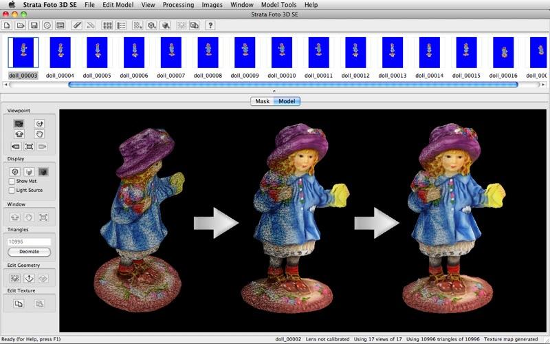 Strata Foto 3D SE скриншот программы 4