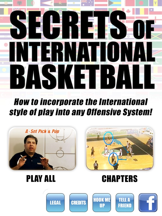 Secrets Of International Basketball: Scoring Playbook - with Coach Lason Perkins - Full Court Training Instruction - XL screenshot-0
