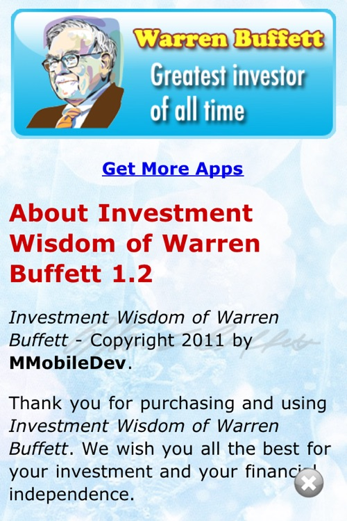 Investment Wisdom of Warren Buffett screenshot-2
