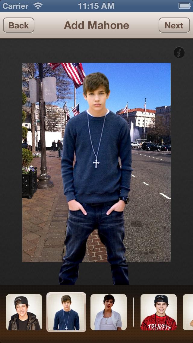 Me for Austin Mahone