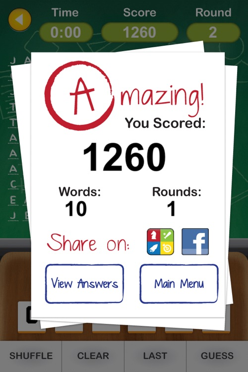 Anagram Academy - Jumble Text, Spell Words, and Become an Unscramble Master screenshot-4