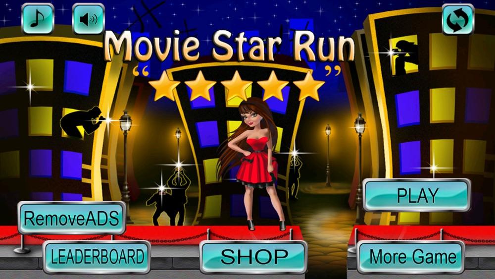 Movie Star Run – Makeover Girl Running