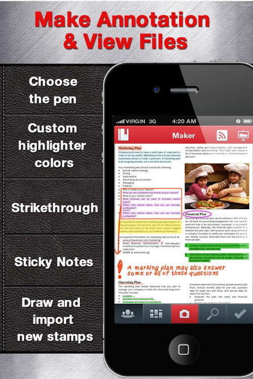 Annotate PDF for iPhone