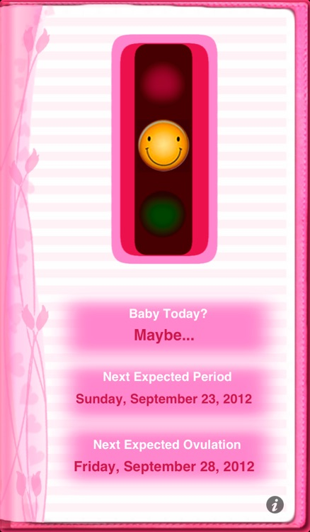 Maybe Baby 2016 Lite - Fertility / Ovulation Diary, Period Tracker, Menstrual Calendar, Pregnancy & Gender Predictor screenshot-1