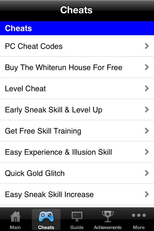 Pro Cheats & Walkthrough - Skyrim Edition Lite