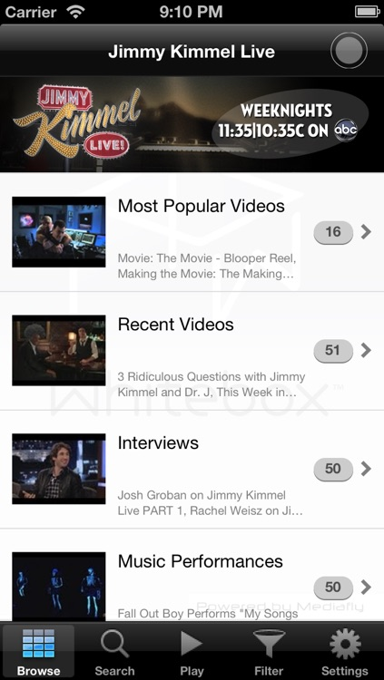 Jimmy Kimmel Live -- The Official JKL App