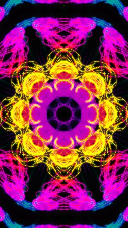 Spawn Symmetry Kaleidoscope light show (FREE) screenshot-3