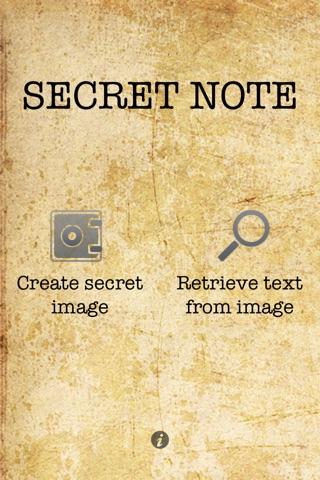SecretNote iPhone