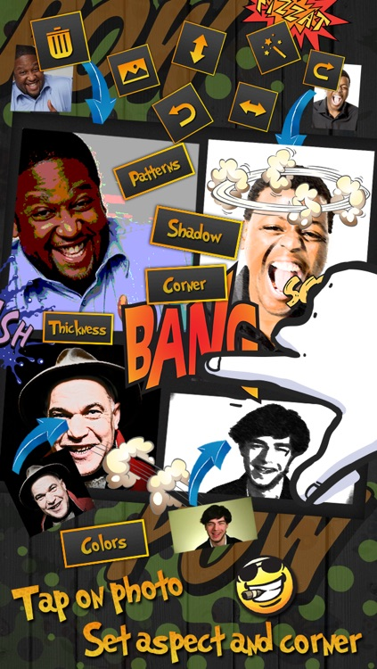 Comic Frames- Comic Photo Effects & Editor screenshot-3
