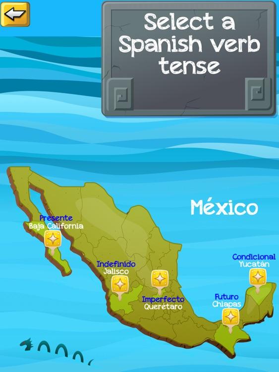 Verb Challenge Spanish - iPad Edition screenshot-4