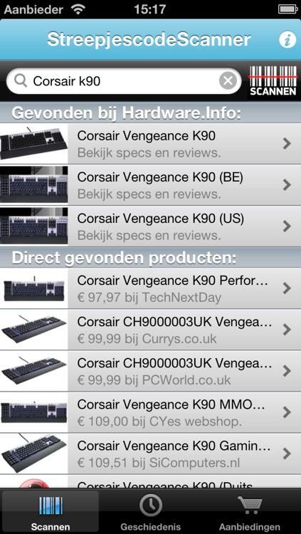 StreepjescodeScanner