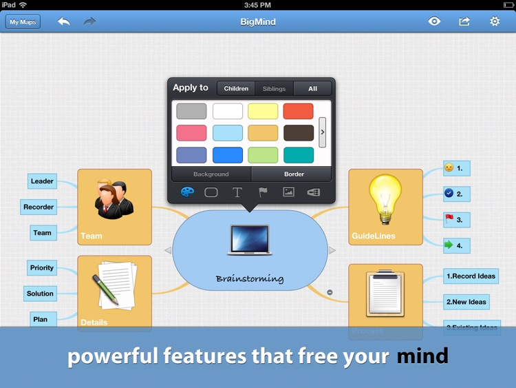 BigMind Pro - Mind Mapping screenshot-0
