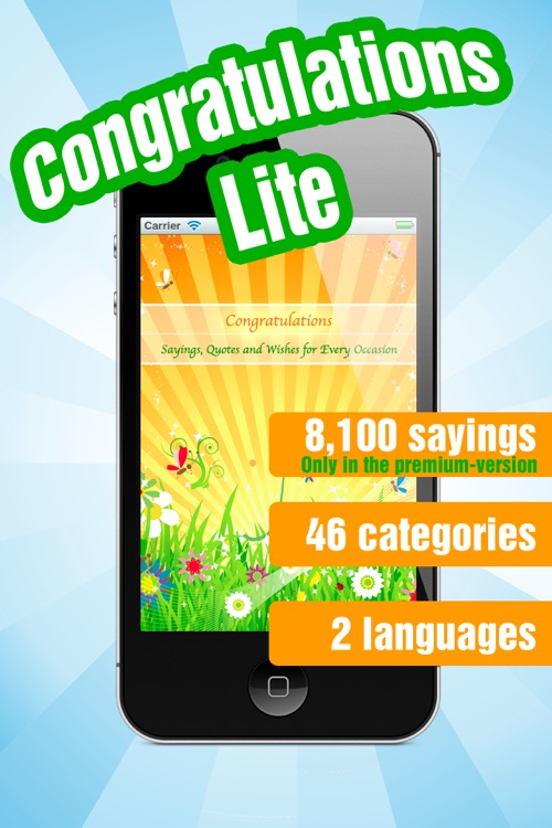 Congratulations Lite - Greetings, Quotes and Wishes for Every Occasion