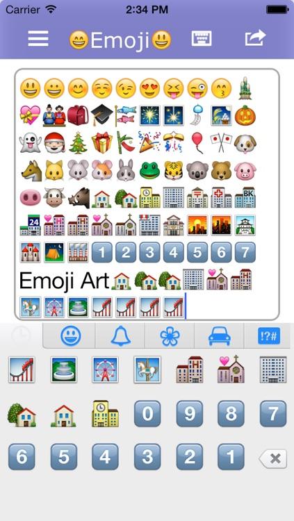 Emoji Art For Whatsapp,iMessage,SMS,Mail Free by ZHOU HUI