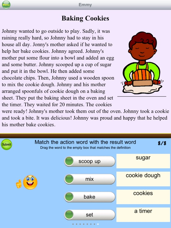Second Grade Reading Comprehension