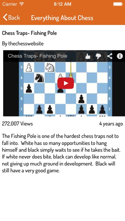 A to Z of Chess - Ultimate Videos for Chess Basics, Traps, Strategies and Tactics screenshot-4
