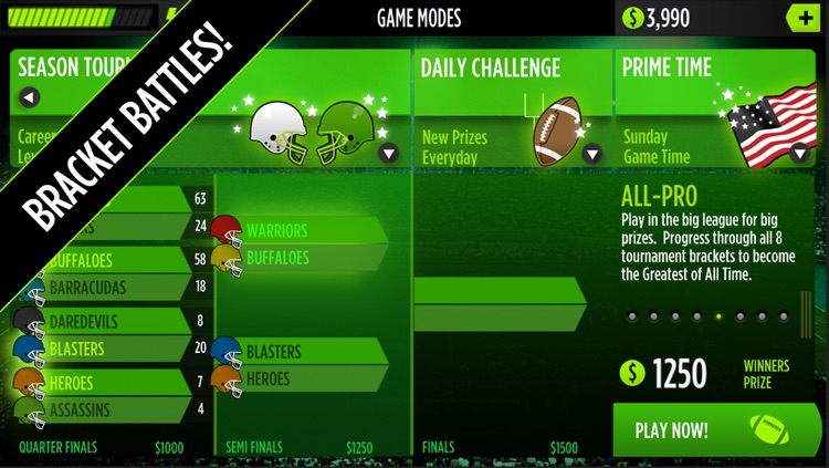 GameTime Football with Mike Vick : A Real Quarterback Sports Game screenshot-4