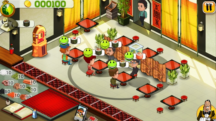Master Sushi HD lite screenshot-4