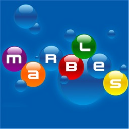 Marbles HD - relaxing puzzle logic game for children and adults