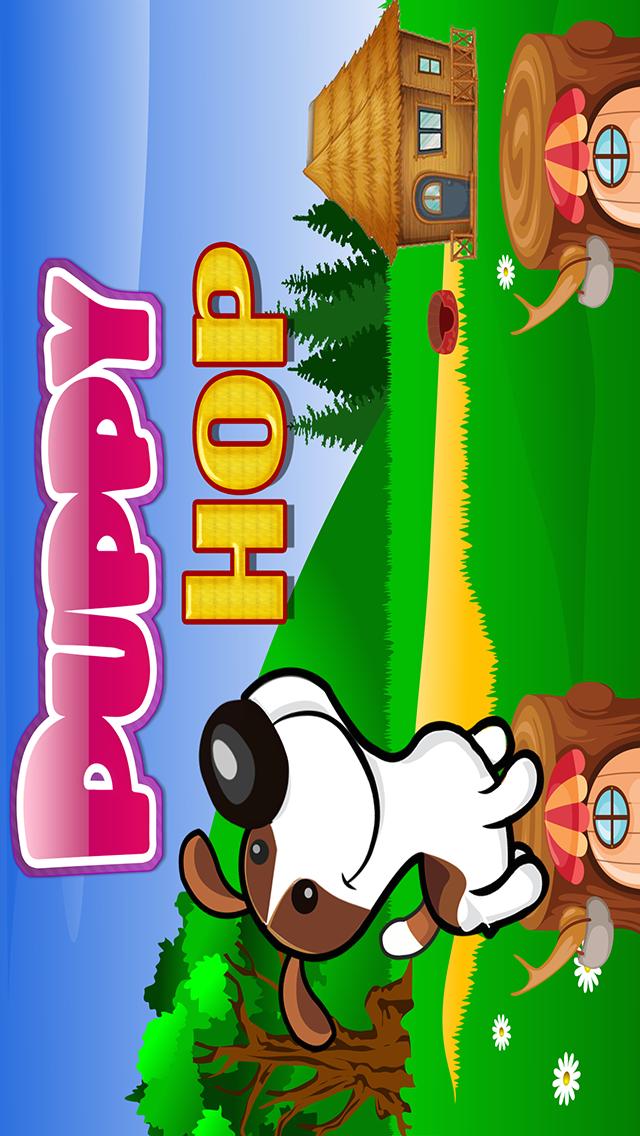 A Puppy Dog Hop Cannon Blast: Free Jumping Wheel Adventure