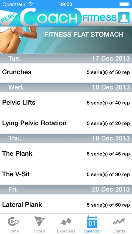 PlayCoach™ Fitness Flat Stomach screenshot-4