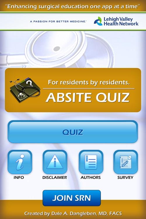 ABSITe Surgery Quiz