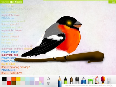 Draw Mania HD Free (ex Charadium) на iPad