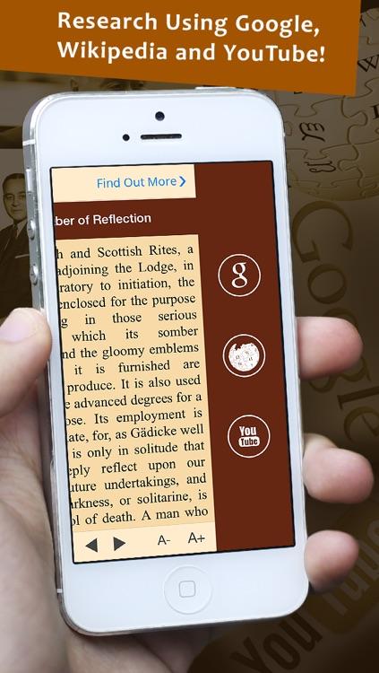 Masonic Rituals Reference - The Masonic Ritual Monitor and Symbolism Guide screenshot-4