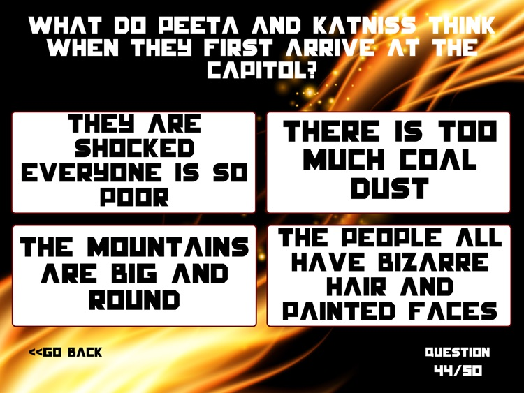 Ultimate Trivia for Hunger Games screenshot-3