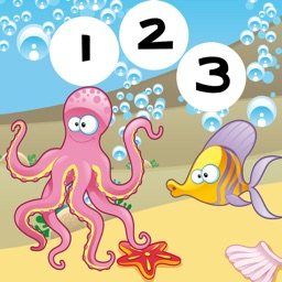 123 Counting For Kids Learning Math With Fun Game!Play With Me&Learn To Count The Underwater Animals
