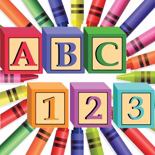 Learn ABC & 123 HD icon