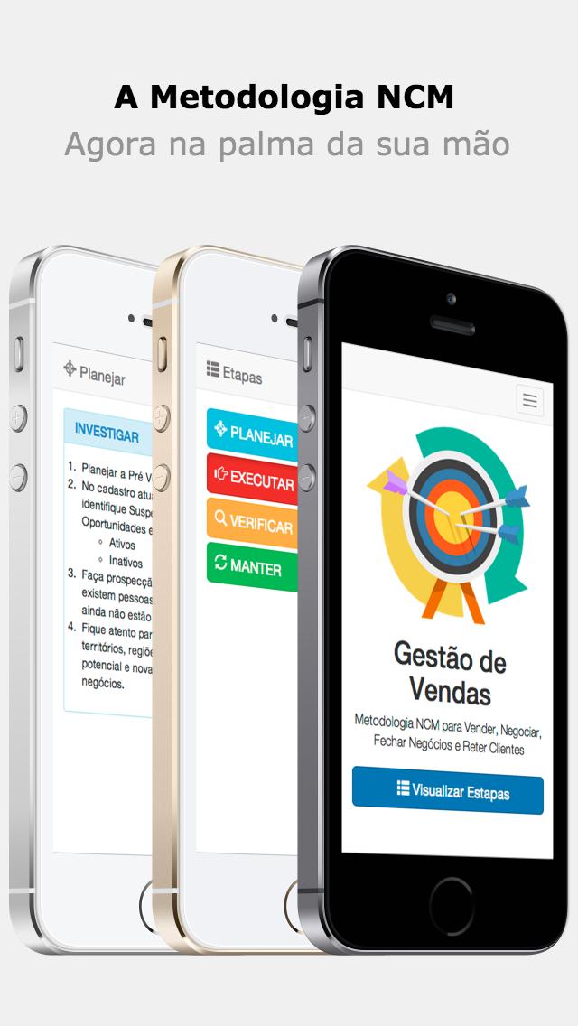 Gestão de Vendas screenshot one