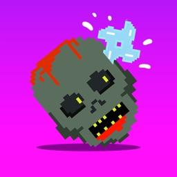 Block Shuriken Zombie