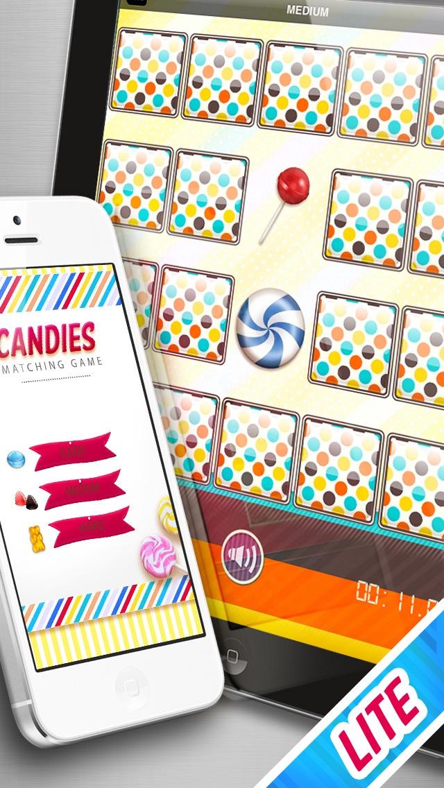 Candies Matching Game LITE screenshot two