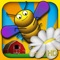 Buzz around vibrant flower fields collecting pollen for your beehive