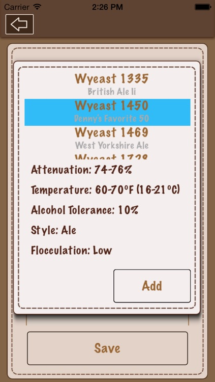 Beer Recipe Calculator screenshot-4