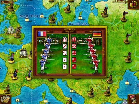Игра European War for iPad