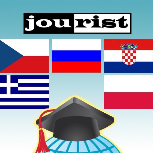 Trener Słownictwa Jourist. Europa Południowa i ...