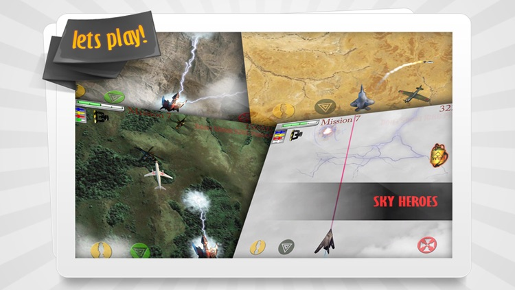 Sky Heroes HD Free screenshot-3