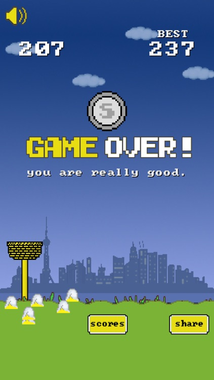 Flappy Egg Drop Free Fall screenshot-3