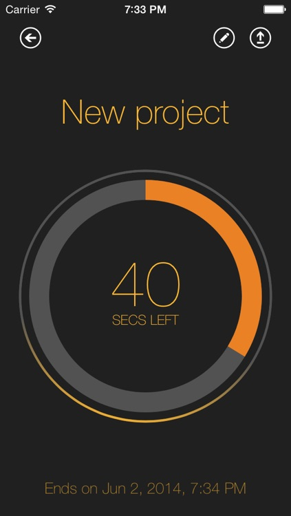 Time Left  - Quickly create one-time reminders on your iPhone, iPad or iPod Touch. HD Free