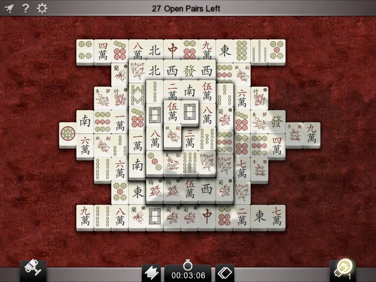 Mahjong Solitarus screenshot-0