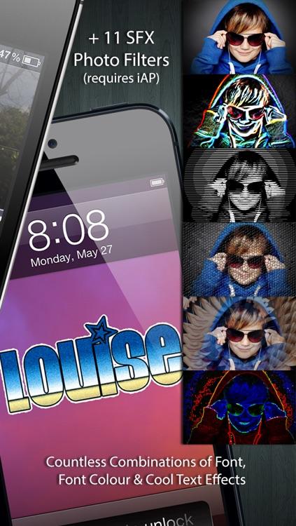 Graffiti Tag Creator - Custom Wallpapers/Backgrounds, Lock Screen & Home Screens screenshot-3