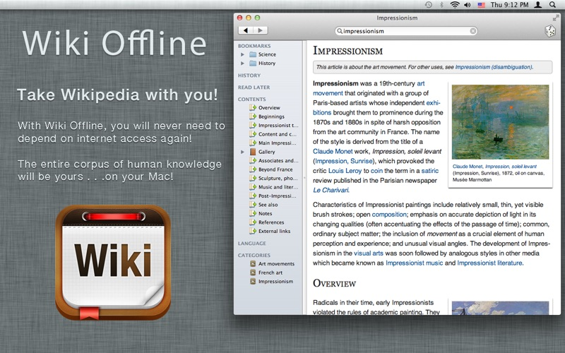 Wiki Offline — A Wikipedia Experience   App Price Drops