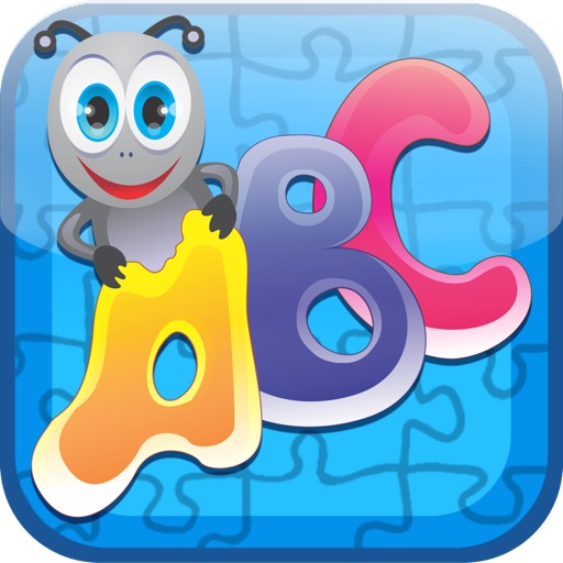 Alphabet Jigsaw Puzzles - Beautiful educational game for toddlers and preschool kids